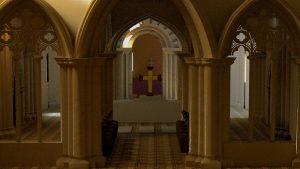 High Altar - Hyde Abbey