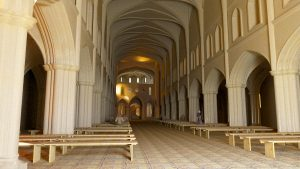 Towards the Nave - Hyde Abbey