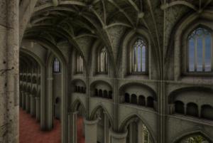 Medieval Malmesbury Abbey Inside